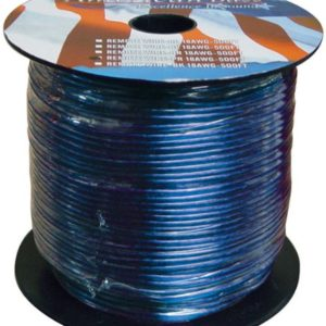 American Bass 18500BL REMOTE WIRE 18GA. 500' BLUE AMERICAN BASS