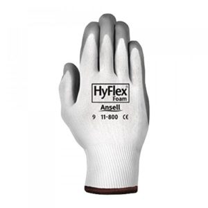 Ansell 11-800-9 Size 9 Hyflex Coated Work Gloves