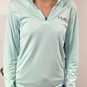 HUK Ladies ICON X Hoodie Sea Foam Size Medium