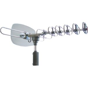 Naxa Electronics NAA-351 High Powered Amplified Motorized Outdoor Antenna for Atsc and HDTV