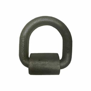 Tie 4 Safe 3/4 Inch Weld On Lashing D-Ring with Cap - Pack of 2