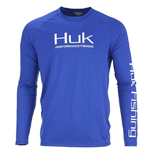 HUK Mens Pursuit Doubled Up Long Sleeve